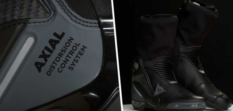 Analizamos las botas Dainese Axial Gore-tex