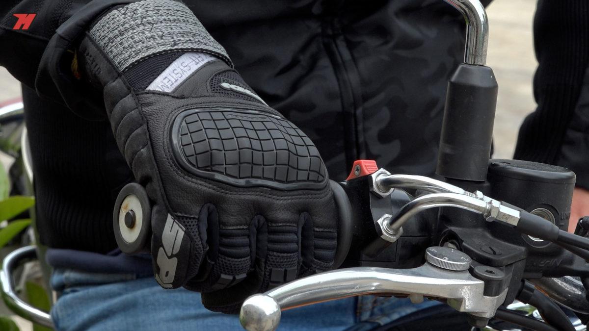 Estos guantes Spidi X-Force no pasan desapercibidos