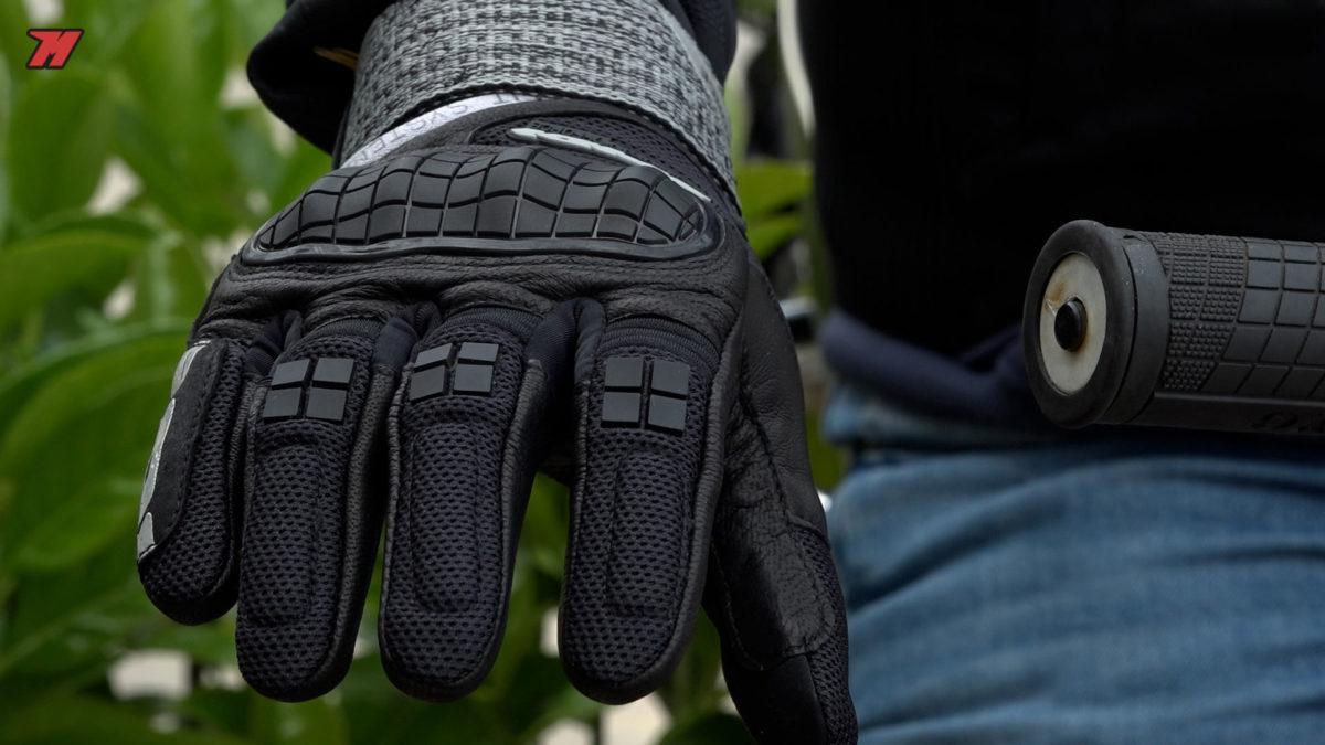 Estos guantes Spidi son muy cómodos