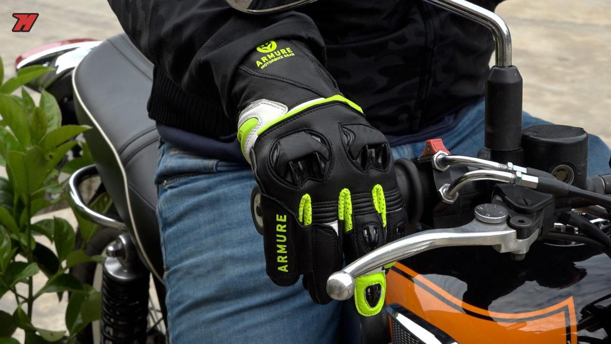 Deportivos y cómodos: así son los guantes Armure Stace