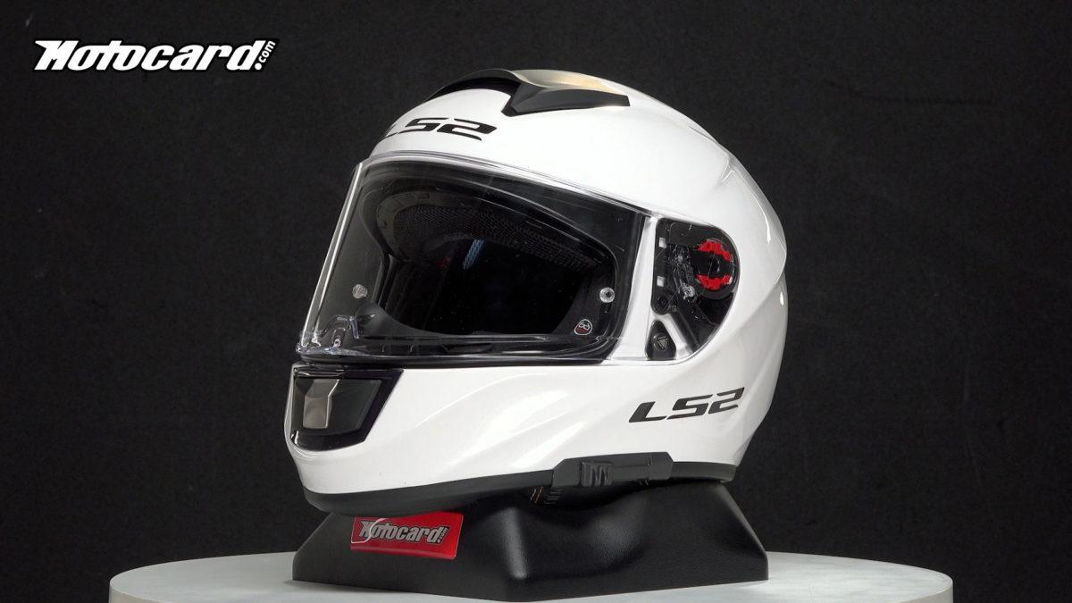 El casco LS2 Vector Evo es otro casco de moto barato