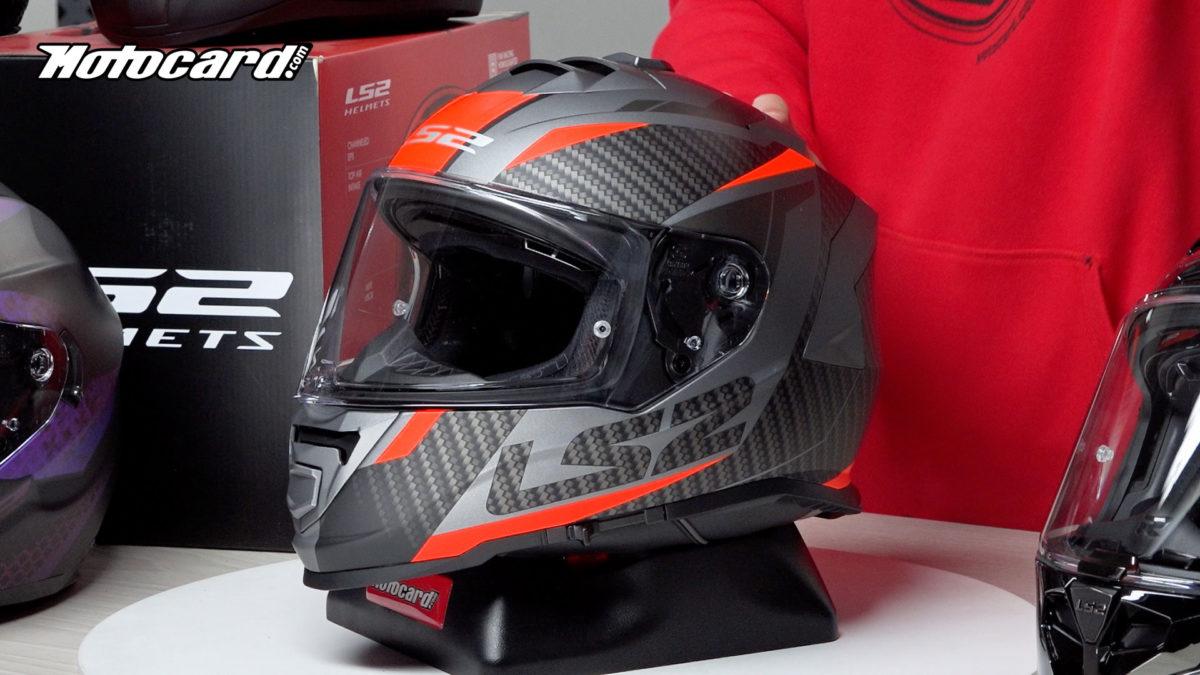Este casco LS2 es barato y muy cómodo