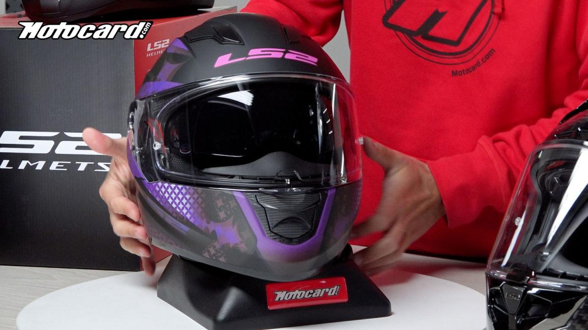 Este casco LS2 barato es perfecto para ciudad