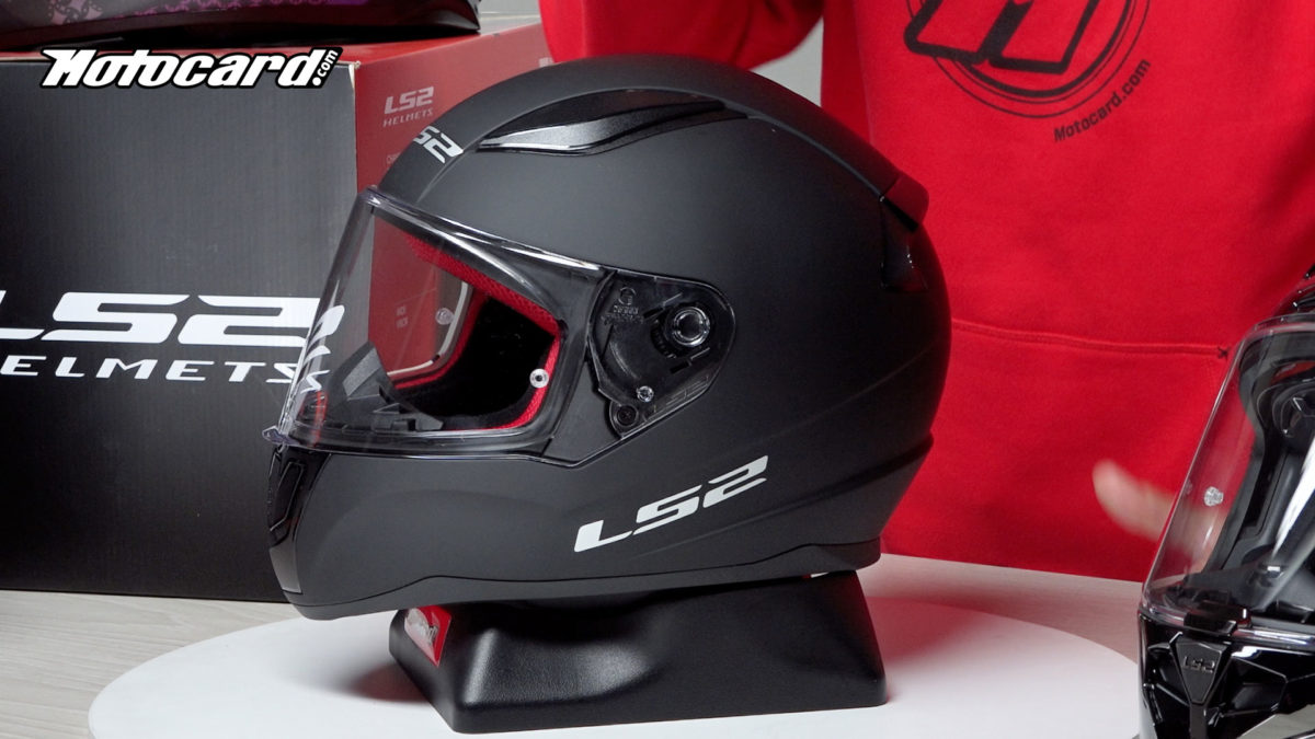 Este es un casco LS2 barato